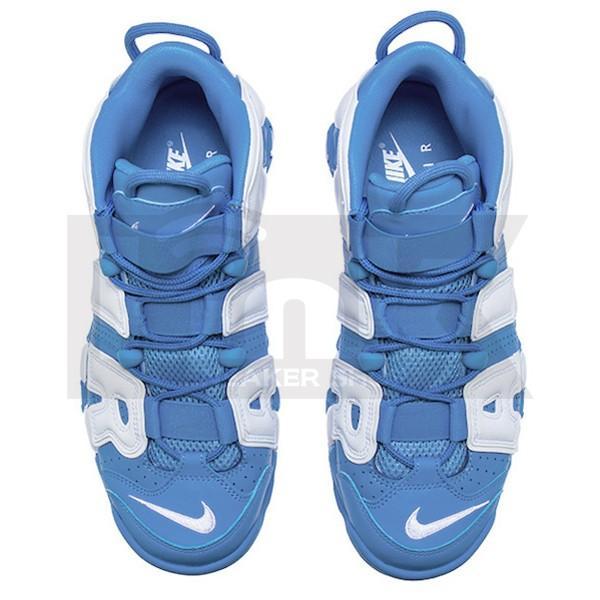 NIKE AIR MORE UPTEMPO UNC UNIVERSITY BLUE/WHITE sneaker-shop-link 03