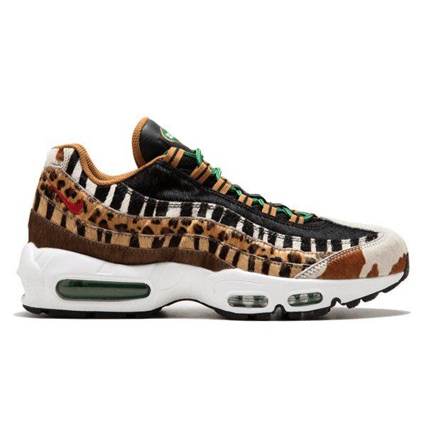premium selection f8b34 6719e NIKE AIR MAX 95 DLX ANIMAL PACK 2.0 PONY BLACK CLASSIC GREEN SPORT RED| sneaker ...