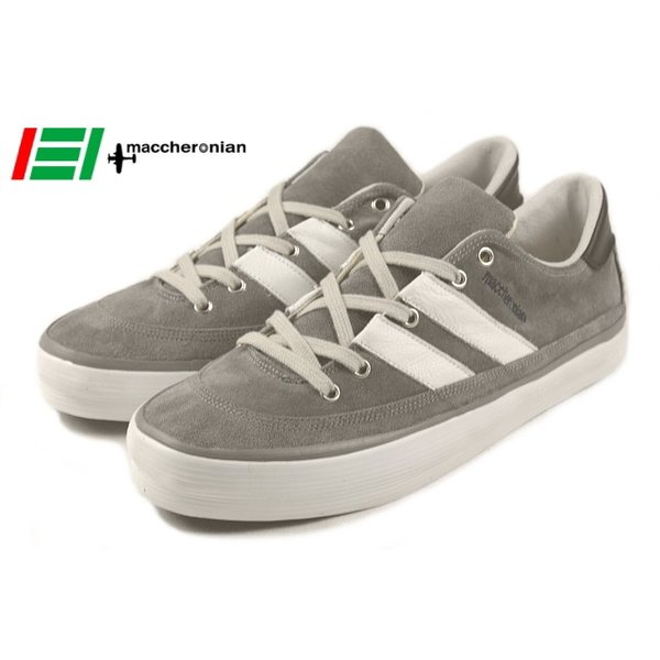 20%OFF マカロニアン maccheronian 2664S グレー/ホワイト/ネイビー|sneaker-soko