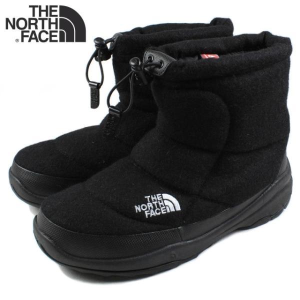 20%OFF ノースフェイス THE NORTH FACE ヌプシ ブーティー ウール 2 ショート ブラック NF51592-K ブーツ|sneaker-soko