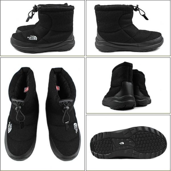 20%OFF ノースフェイス THE NORTH FACE ヌプシ ブーティー ウール 2 ショート ブラック NF51592-K ブーツ|sneaker-soko|02