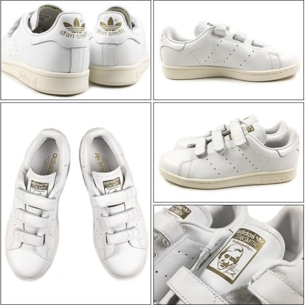 20%OFF アディダス adidas STAN SMITH CF TF スタンスミス コンフォート TF FTWホワイト/FTWホワイト/マットゴールド AQ5358 sneaker-soko 02