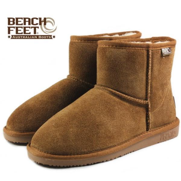 SALE BEACH FEET ビーチフィート クラシック ブーツ ミニ チェスナット BEF007-43 レディース|sneaker-soko