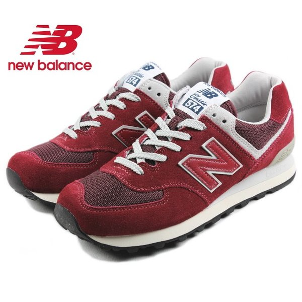 10%OFF ニューバランス New balance ML574 バーガンディ FBR スニーカー|sneaker-soko
