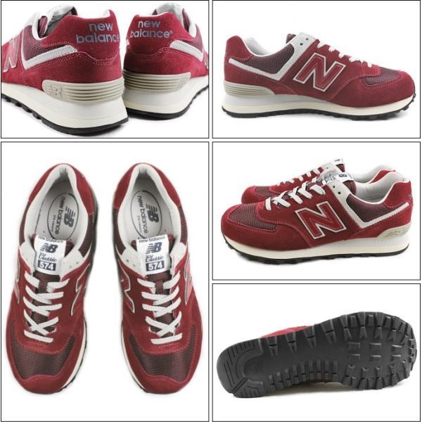 10%OFF ニューバランス New balance ML574 バーガンディ FBR スニーカー|sneaker-soko|02