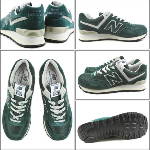 10%OFF ニューバランス New balance ML574 グリーン FBF スニーカー|sneaker-soko|02