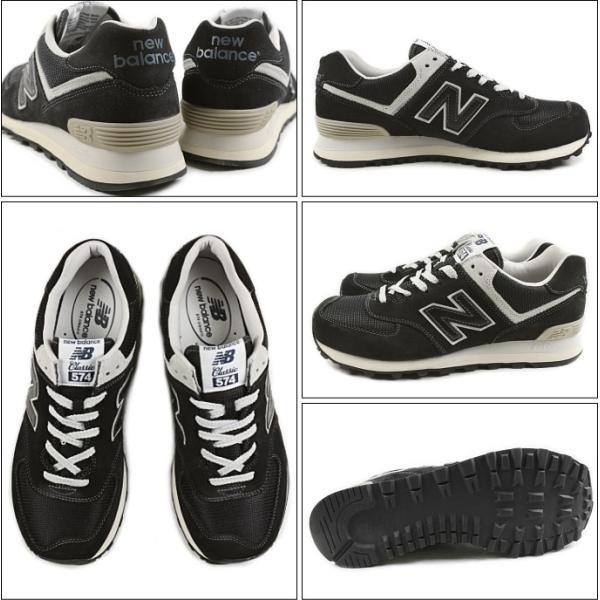 10%OFF ニューバランス New balance ML574 ブラック FBG スニーカー|sneaker-soko|02