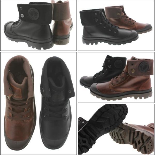 SALE パラディウム PALLADIUM ブーツ バギー レザー BAGGY LEATHER 02356 ブラック(001)サンライズ/チョコレート(237)|sneaker-soko|04
