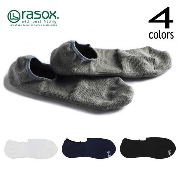[返品・交換不可]ラソックスrasox靴下スポーツパイル・カバーSP181C001ホワイト(100)ネイビー(402)ブラック(