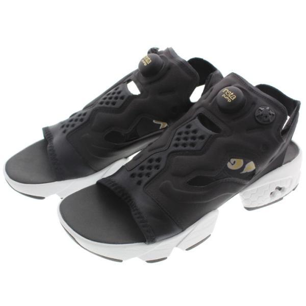 リーボック Reebok インスタポンプフューリー サンダル INSTAPUMP FURY SANDAL ブラック/ホワイト/ゴールドメタリック V69436|sneaker-soko