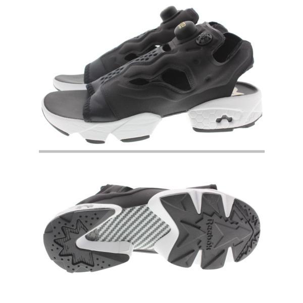 リーボック Reebok インスタポンプフューリー サンダル INSTAPUMP FURY SANDAL ブラック/ホワイト/ゴールドメタリック V69436|sneaker-soko|03