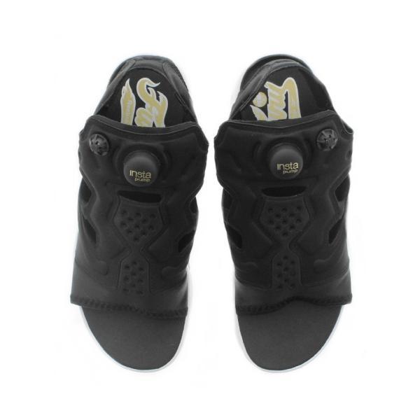 リーボック Reebok インスタポンプフューリー サンダル INSTAPUMP FURY SANDAL ブラック/ホワイト/ゴールドメタリック V69436|sneaker-soko|04