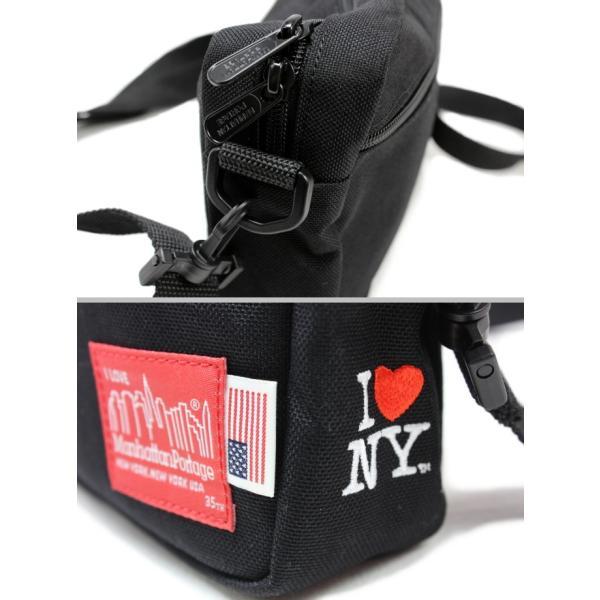 マンハッタンポーテージ Manhattan Portage バッグ ジョガー (L) JPN I LOVE NY 35TH ブラック 1404-L-INY-35TH-BLK