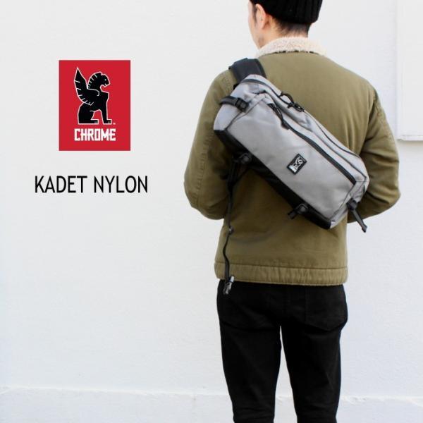 クローム CHROME バッグ カデット ナイロン KADET NYLON ガーゴイルグレー BG-196-GRGY-NA-NA