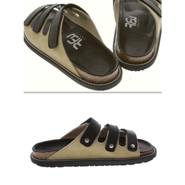 アールエフダブリュー RFW メンズ サンダル パフィン 3 PUFFIN 3 F-1915212 ブラック/ベージュ sneaker-soko 02