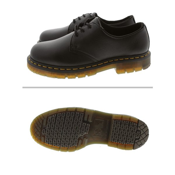 交換返品送料無料 ドクターマーチン Dr.Martens 1461 SR 3ホール シューズ ブラック 24381001|sneaker-soko|03