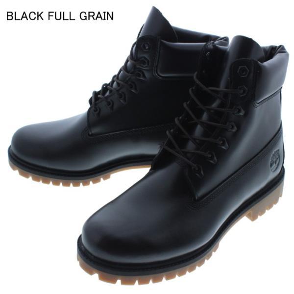ティンバーランド Timberland ブーツ ヘリテージ 6インチ ウォータープルーフ ブーツ ブラックフルグレイン(TB0A22WK) MDブラウンフルグレイン(TB0A22W9) sneaker-soko 05