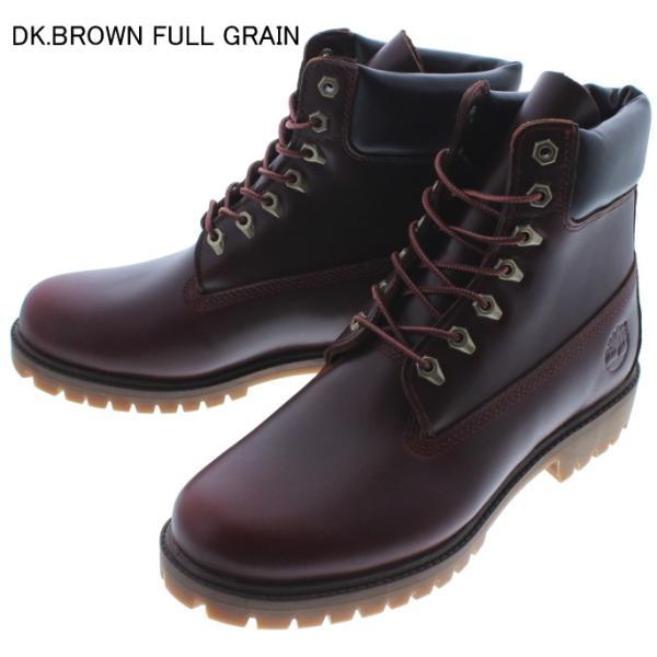 ティンバーランド Timberland ブーツ ヘリテージ 6インチ ウォータープルーフ ブーツ ブラックフルグレイン(TB0A22WK) MDブラウンフルグレイン(TB0A22W9) sneaker-soko 06