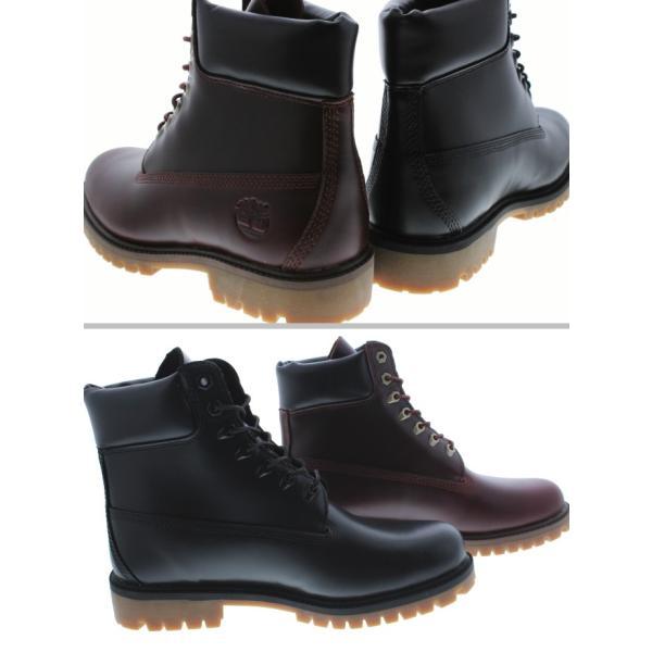 ティンバーランド Timberland ブーツ ヘリテージ 6インチ ウォータープルーフ ブーツ ブラックフルグレイン(TB0A22WK) MDブラウンフルグレイン(TB0A22W9) sneaker-soko 02