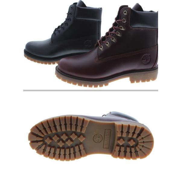 ティンバーランド Timberland ブーツ ヘリテージ 6インチ ウォータープルーフ ブーツ ブラックフルグレイン(TB0A22WK) MDブラウンフルグレイン(TB0A22W9) sneaker-soko 03