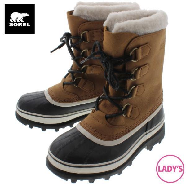 ソレル SOREL ウィメンズ ブーツ カリブー ウール CARIBOU WL エルク NL2271-287|sneaker-soko