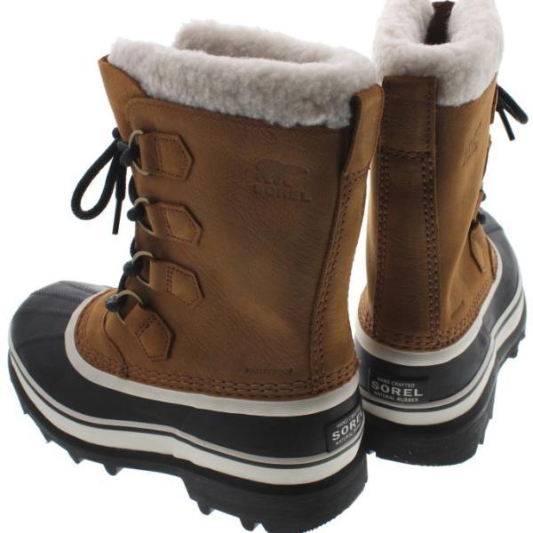 ソレル SOREL ウィメンズ ブーツ カリブー ウール CARIBOU WL エルク NL2271-287|sneaker-soko|02