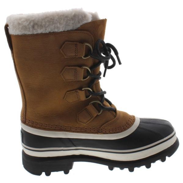 ソレル SOREL ウィメンズ ブーツ カリブー ウール CARIBOU WL エルク NL2271-287|sneaker-soko|03