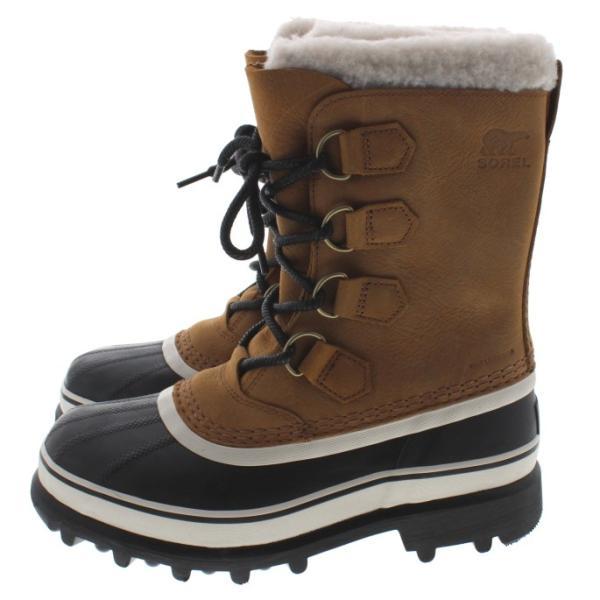ソレル SOREL ウィメンズ ブーツ カリブー ウール CARIBOU WL エルク NL2271-287|sneaker-soko|04