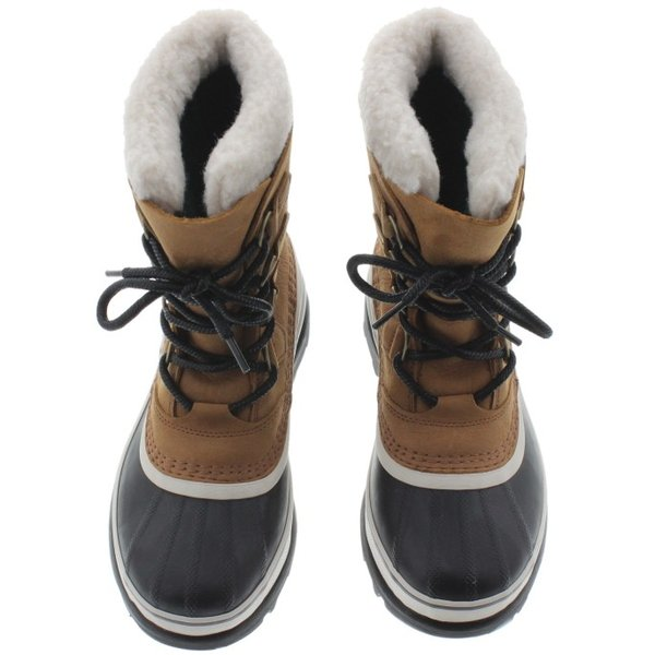 ソレル SOREL ウィメンズ ブーツ カリブー ウール CARIBOU WL エルク NL2271-287|sneaker-soko|06