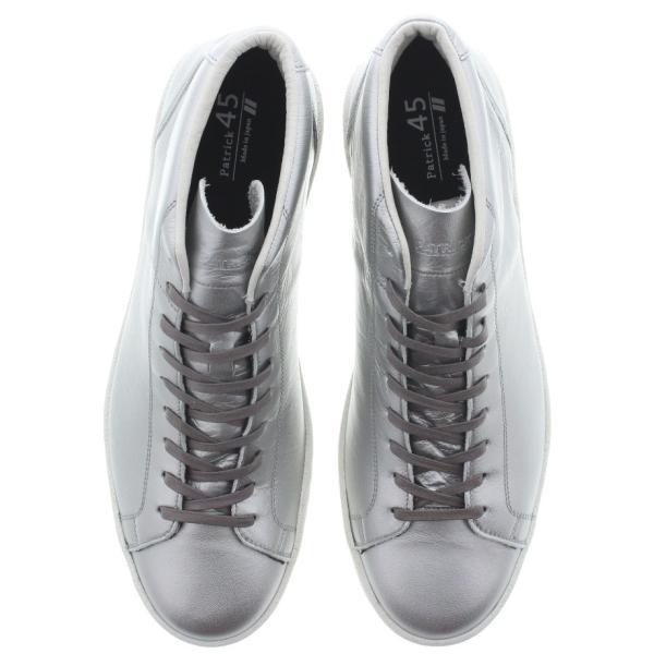 交換返品送料無料 パトリック スニーカー PATRICK セント パンチ ウォータープルーフ St.PUNCH-WP シルバー SV 501884|sneaker-soko|04