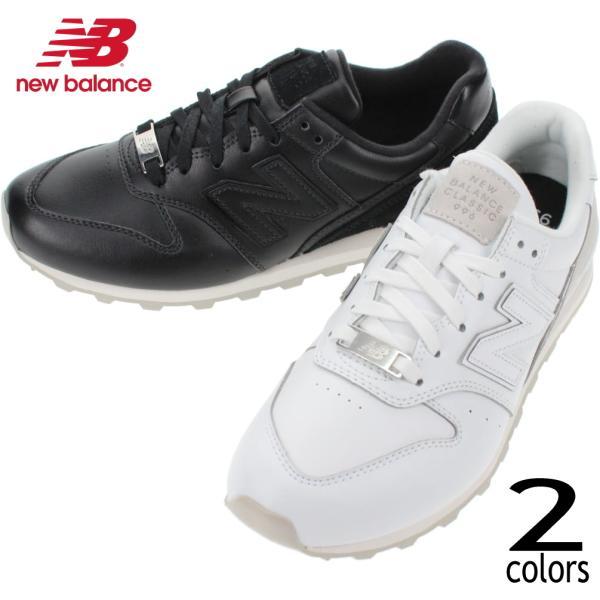 ニューバランスNewbalanceスニーカーWL996ホワイト(FPS)ブラック(FPN)