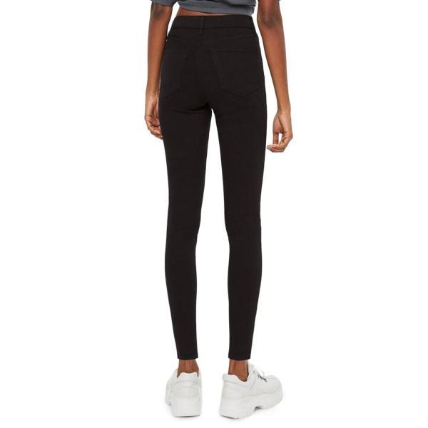 レディース 女性用 ハイ 黒 ブラック ボトムス レディースファッション パンツ ファッション スカート TOPSHOP MOTO JAMIE