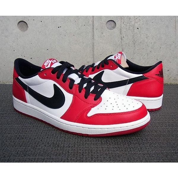 AIR JORDAN 1 RETRO LOW OG 'CHICAGO' エア ジョーダン 1 レトロ ロー OG 【MEN'S】 varsity red/black-white 705329-600|sneakerplusone|02