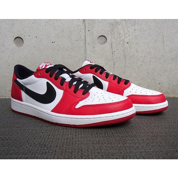 AIR JORDAN 1 RETRO LOW OG 'CHICAGO' エア ジョーダン 1 レトロ ロー OG 【MEN'S】 varsity red/black-white 705329-600|sneakerplusone|03