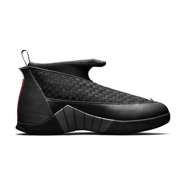 AIR JORDAN 15 RETRO OG 'STEALTH' エア ジョーダン 15 OG 【MEN'S】 black/varsity red-anthracite 881429-001|sneakerplusone