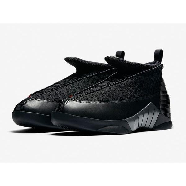 AIR JORDAN 15 RETRO OG 'STEALTH' エア ジョーダン 15 OG 【MEN'S】 black/varsity red-anthracite 881429-001|sneakerplusone|02