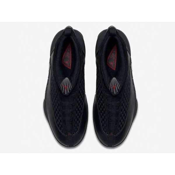 AIR JORDAN 15 RETRO OG 'STEALTH' エア ジョーダン 15 OG 【MEN'S】 black/varsity red-anthracite 881429-001|sneakerplusone|03