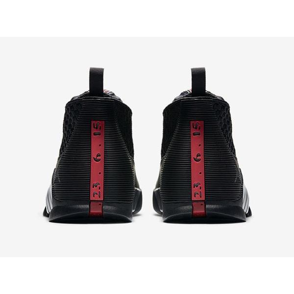 AIR JORDAN 15 RETRO OG 'STEALTH' エア ジョーダン 15 OG 【MEN'S】 black/varsity red-anthracite 881429-001|sneakerplusone|04