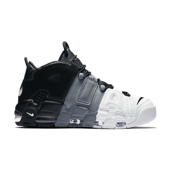 AIR MORE UPTEMPO 96 'TRI-COLOR' エア モア アップテンポ レトロ 【MEN'S】 black/cool grey-white 921948-002|sneakerplusone
