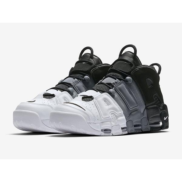 AIR MORE UPTEMPO 96 'TRI-COLOR' エア モア アップテンポ レトロ 【MEN'S】 black/cool grey-white 921948-002|sneakerplusone|02