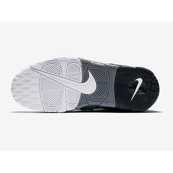AIR MORE UPTEMPO 96 'TRI-COLOR' エア モア アップテンポ レトロ 【MEN'S】 black/cool grey-white 921948-002|sneakerplusone|05