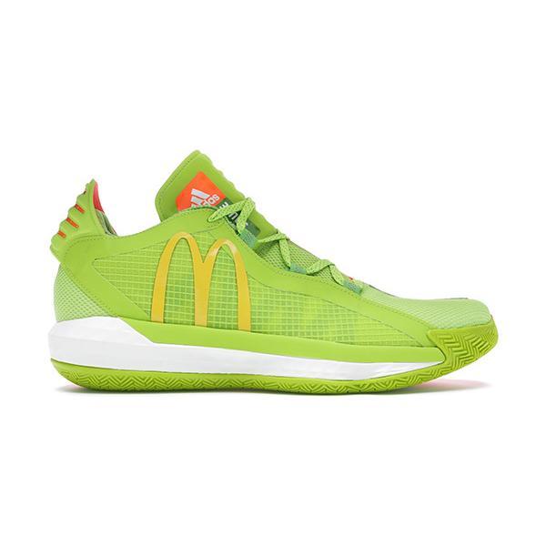 ADIDAS DAME 6 GCA 'MCDONALDS' アディダス リラード 6 マクドナルド 【MEN'S】 green/yellow/orange FX3334