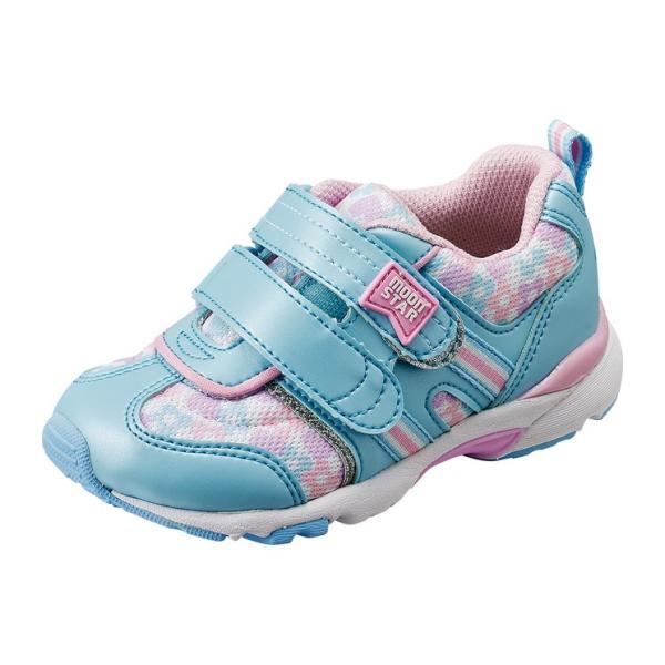 子供靴  スニーカー 幅広 3E ムーンスター  CR C2139  カラー サックス  |sneakers-trend