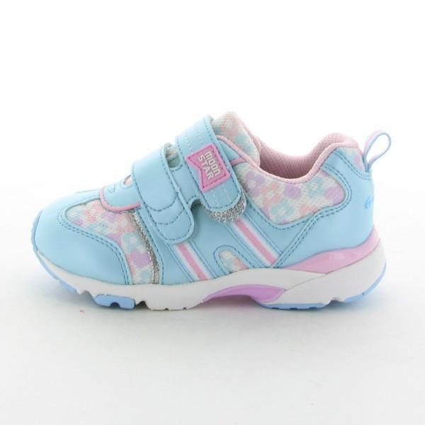 子供靴  スニーカー 幅広 3E ムーンスター  CR C2139  カラー サックス  |sneakers-trend|04