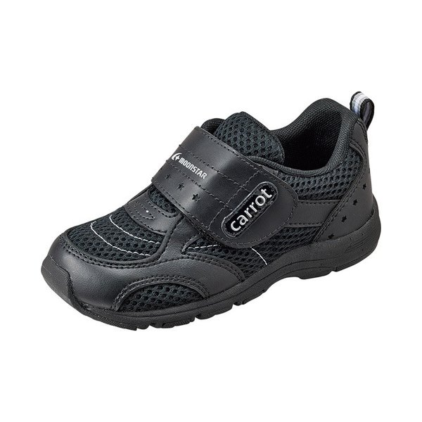 子供靴 スニーカー 速乾シューズ ムーンスターキャロット  CR C2150 カラー ブラック |sneakers-trend