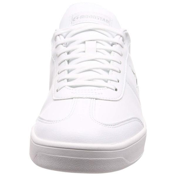 通学靴  白スニーカー 白運動靴 学校用品 上履き 白シューズ メンズシューズ メンズスニーカー ムーンスター MS F004 ホワイト|sneakers-trend|02