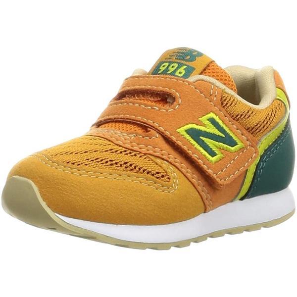ニューバランス子供靴ベビーシューズNBIZ996ATGオレンジタイガー