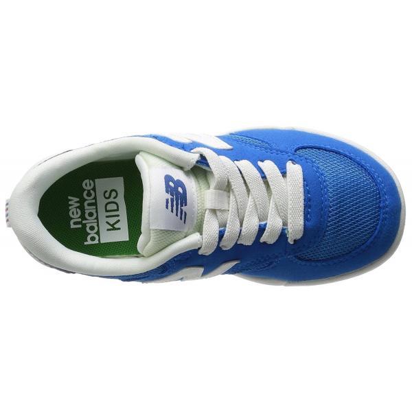 ニューバランス キッズスニーカー KT300BLI・P  ブルー スリッポンタイプ|sneakers-trend|02