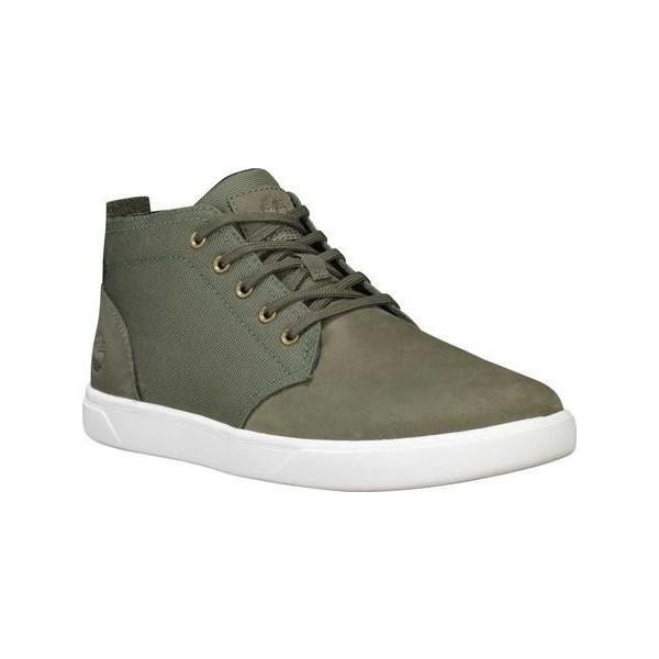 ユニセックス シャツ トップス Timberland Groveton Plain Toe Leather and Fabric Chukka (Men's) sneakersuppliers