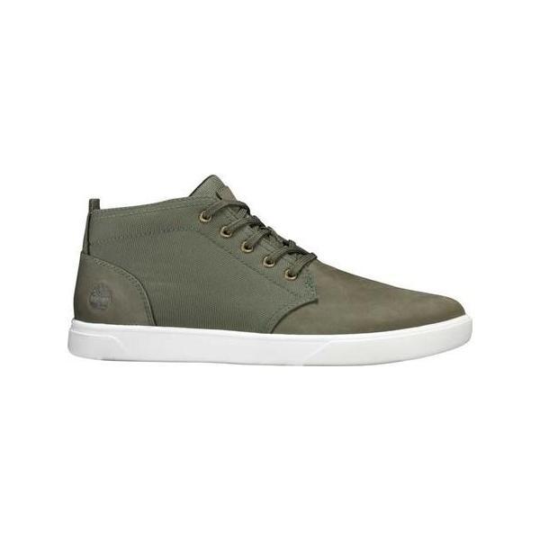 ユニセックス シャツ トップス Timberland Groveton Plain Toe Leather and Fabric Chukka (Men's) sneakersuppliers 02